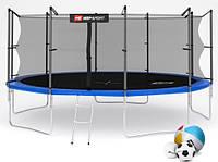 Батут Hop-Sport  16 ft (488 см) с защитной с внутренней сеткой