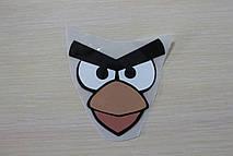 Аппликация, наклейка на ткань Angry birds
