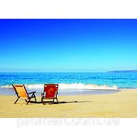 Фотокартина на холсте Морской пляж