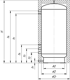 Теплоаккумуляторы ТА0.320 л буферные емкости эконом Kronas., фото 5