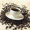 Фотокартина на холсте Чашка кофе на зернах