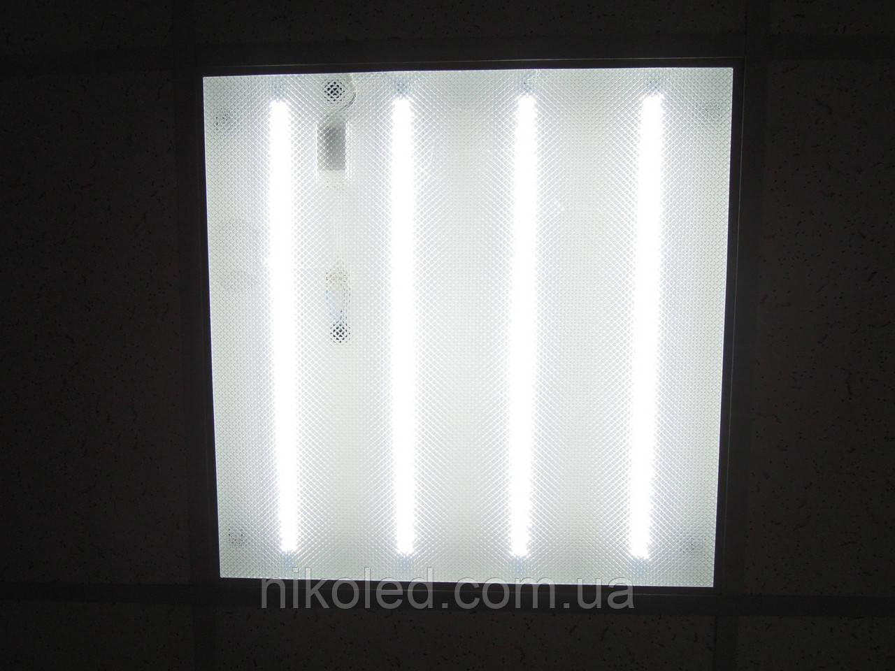Светодиодная панель 600х600 36W 6500K prismatic