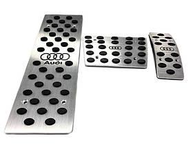 Накладки на педали Audi (АКПП) Бренд JTEC