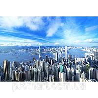 Фотокартина на холсте Гонконг