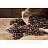 Фотокартина на холсте Кофейные зерна в мешке