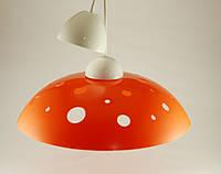 Круглый подвесной потолочный светильник для дома Оранжевый 60Вт ERKA 1302 Е27