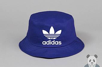 Панамка Adidas синяя (люкс копия)