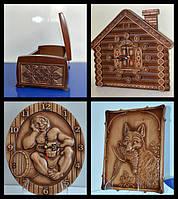 Резная деревянная продукция