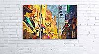 Модульная картина на холсте 3 в 1 Каир, Египет, рынок. 60х90 см, фото 1
