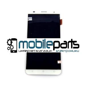 Оригинальный Дисплей (Модуль) + Сенсор (Тачскрин) для Nomi i504 (Белый)