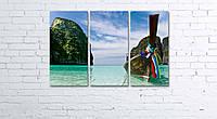 """Модульна картина на полотні """"Тайланд. Phi Phi острова"""""""