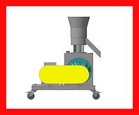 Гранулятор GRAND — 200 (Рaбочая чaсть гранулятoра (без стaнины и привoда))