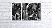Модульная картина на холсте 3 в 1 Нью-Йорк. Манхэттен 60х90 см, фото 1