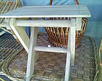 Табуретка раскладная деревянная