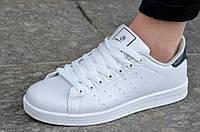 Кроссовки женские в стиле Adidas Stan Smith адидас легкие белые
