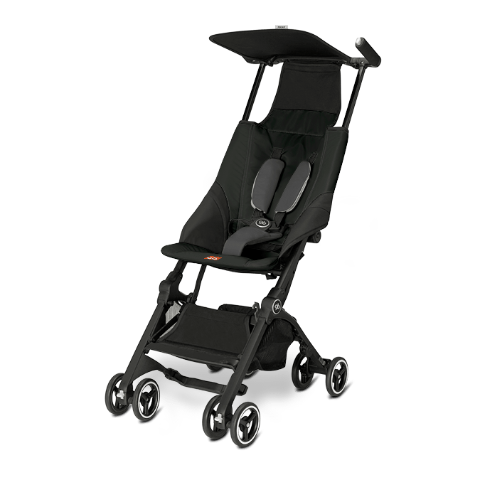 Прогулочная коляска GB Pockit вес 4.3 кг