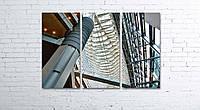 Модульная картина на холсте 3 в 1 Токио. Yurakucho 80х120 см, фото 1
