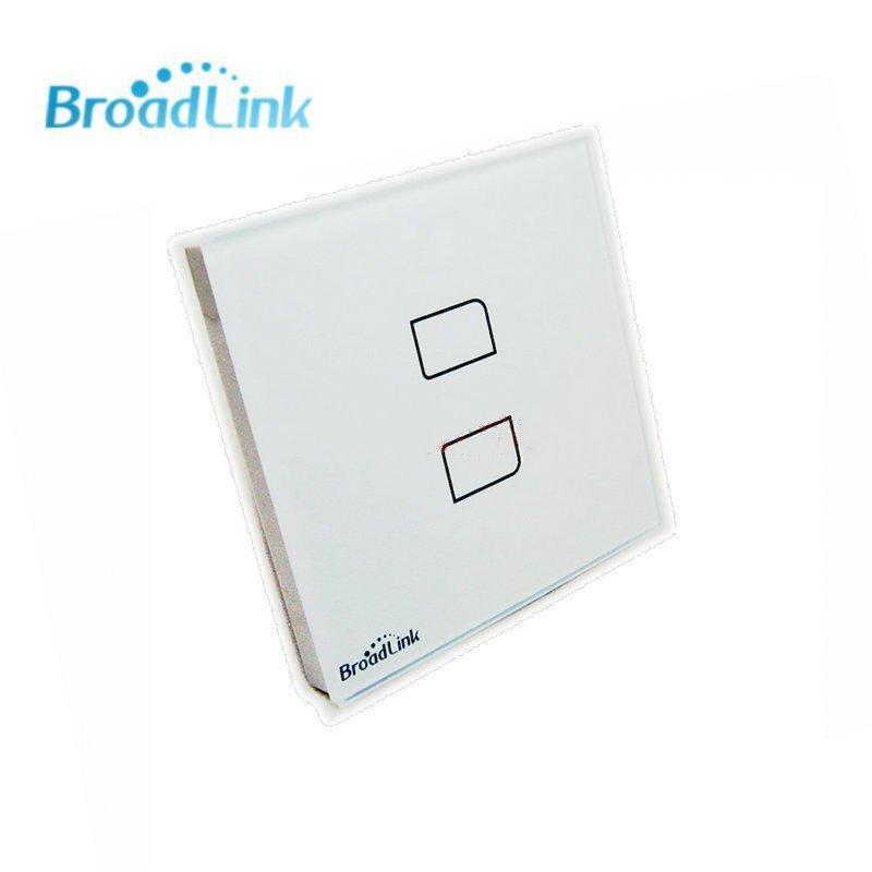 Сенсорный радио-выключатель на две кнопки Broadlink TC2-2