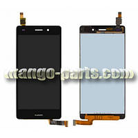 LCD Дисплей+тачскрин Huawei P8 Lite (ALE L21) черный