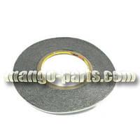 Скотч двухсторонний поролоновый 3метра 1mm (нарезаны тонкие полоски)