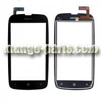 Тачскрин/Сенсор Nokia 610 Lumia черный  high copy