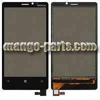 Тачскрин/Сенсор Nokia 920 Lumia черный  high copy