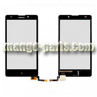 Тачскрин/Сенсор Nokia XL Dual Sim черный high copy