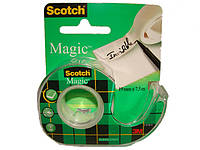 Невидимая клейкая лента 3М Scotch Magic на мини-диспенсере, 19мм х 7,5 м