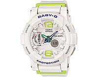 Часы Casio BABY-G BGA-180 white/green
