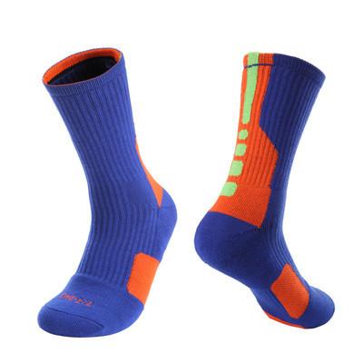 06d68f8caa94 Баскетбольные носки Nike Elite Hyper blue-orange - Интернет магазин обуви  Shoes-Mania в