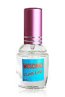 Женская туалетная вода с феромоном Moschino Cheap and Chic I Love Love (Москино Чип энд Чик Ай Лав Лав), 12 мл