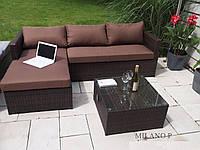 Диван софа MILANO Р из ротанга с подушками, фото 1