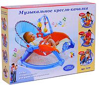 Шезлонг детский Baby Tilly PLAY SMART (7179)