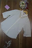 Блуза женская с украшением и планкой впереди BURRASCA, фото 1