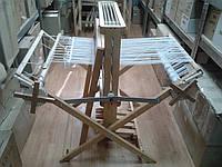 Раскладной напольный ручной ткацкий станок