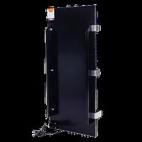 Керамічна панель обігрівач DIMOL Standart Plus 07 з сушкою рушників ( чорний графіт), фото 1
