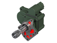КОМ Eaton Fuller RTSO 12316 - 14316 - 15316 - 17316 A (установка на задней части КПП, левое вращение)