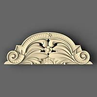 Накладка резная из дерева для царг стола 165х60