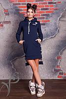 Зимнее теплое платье Fur-Fur