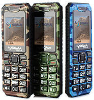Телефон Sigma X-style 11 Dragon 1,77 дюйма, 2 сим, 0,3 Мп, 800 мА/ч
