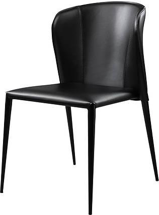 Стул Артур кожа черная (Concepto ТМ), фото 2