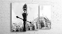"""Модульна картина на полотні """"Вестмінстерський Центральний хол. Лондон"""""""