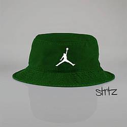 Панамка Jordan  зеленая