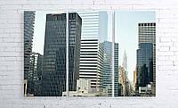 Модульная картина на холсте 3 в 1 Нью-Йорк 100х150 см