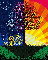 Картина по номерам Дерево счастья (BRM6918) 40 х 50 см