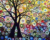 Раскраска по цифрам Дерево гармонии (BRM6962) 40 х 50 см