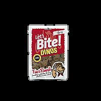 Лакомства Brit Let's Bite Dinos для собак жевательные с ягненком, 150 г