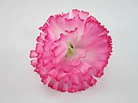 Искусственный цветок гвоздика ( диаметр 8 см)