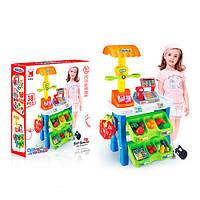Игровой набор Магазин 1282 с кассой,тележкой и товарами