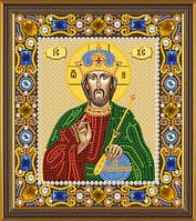 """Набор для вышивания с камнями """"Христос Спаситель"""" 13*15, Д6001"""